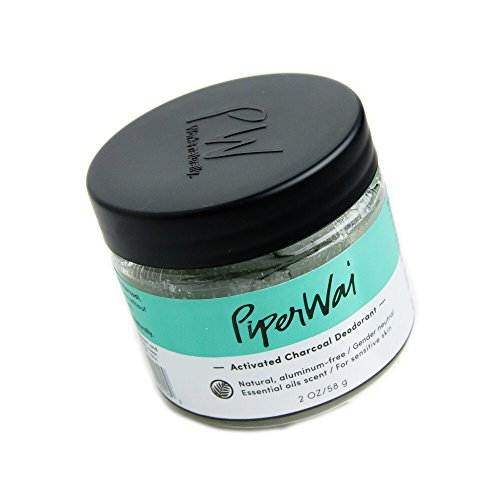 PiperWai Natural Deodorant Jar (As Seen on Shark Tank)