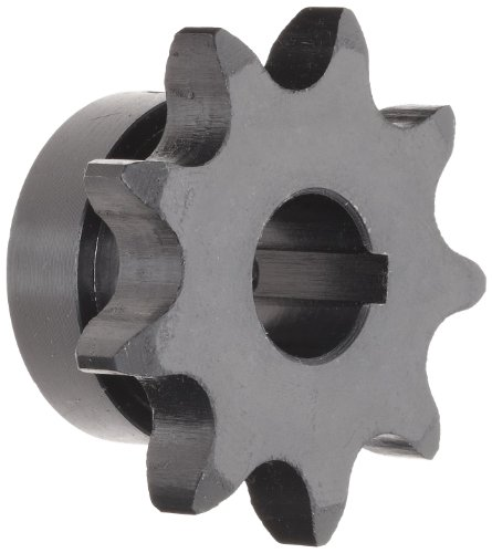Tsubaki 50B18F-1 Finished Bore Sprocket, Single Strand, Inch, #50 ANSI No., 5/8