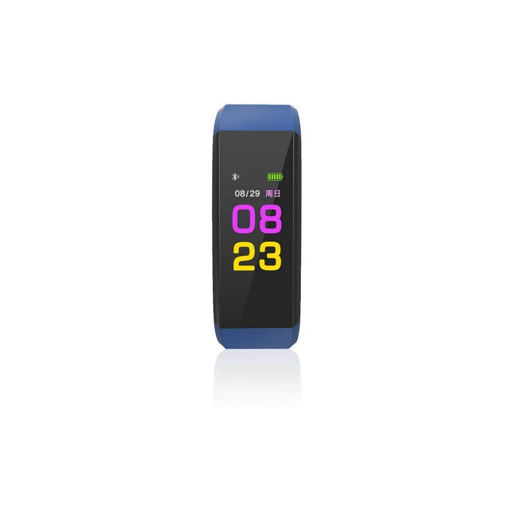 Clipss Perseguidor multifuncional Smart Fitness Wristband Monitor de frecuencia card/íaca Fitness Track Pulseras con holograma