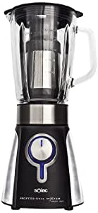 Solac BV5722 - Batidora de vaso de cristal, 1000 w