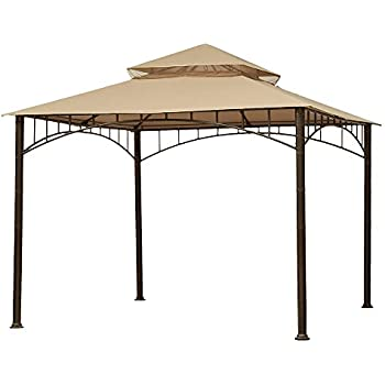 Garden Winds Replacement Canopy for Target Madaga Gazebo Beige  sc 1 st  Amazon.com & Amazon.com : Garden Winds Replacement Canopy for Summer Veranda ...