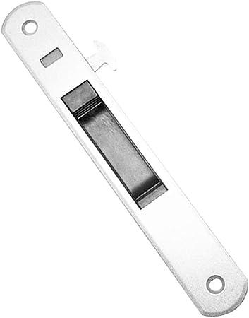 Gmxop - 1 Pieza para Puerta corredera, Manilla de Ventana, candado, Gancho Estilo Empotrado, aleación de cinc, Blanco, Medium: Amazon.es: Hogar