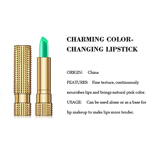 Aloe Vera Lip Balm Temperature Color Change Natural Moisture Lipstick 5g