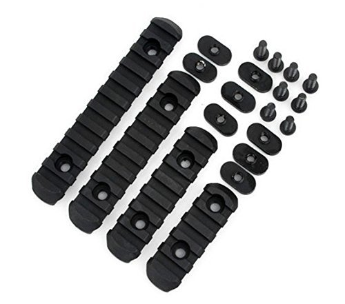 Dagger Defense polymer, standard picatinny rail sections for