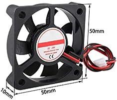 Ventilador de impresora 3D de 24 V CC, sin escobillas, silencioso ...