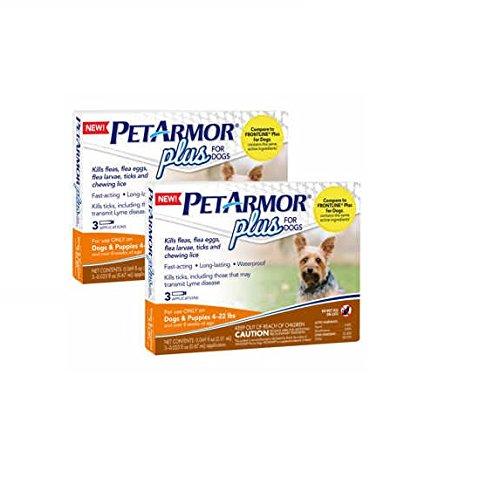 PETARMOR PLUS FOR DOGS & PUPPIES 4-22 LBS by PETARMOR PLUS