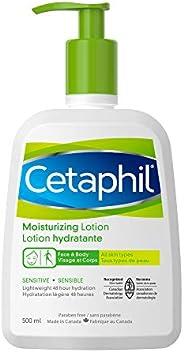 Cetaphil Moisturizing Lotion With Avocado Oil And Glycerin, 500ml- 48hr Hydration - For Sensitive Skin - Fragr