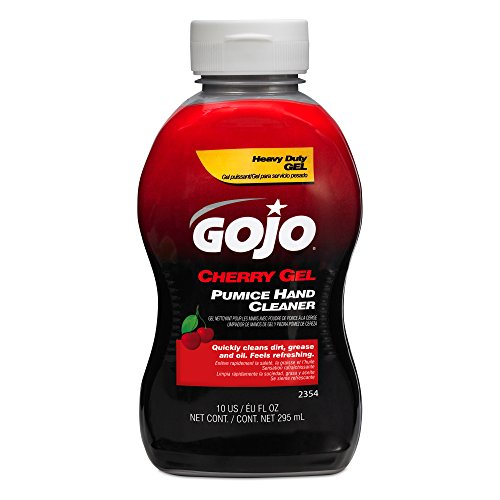 Gojo 2354 Cherry Gel Pumice Hand Cleaner - 10 oz. ()