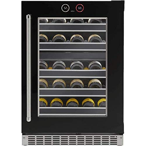 Danby Reserve Dual-Zone Under-Counter Wine Cellar with Right-Hand Door Swing
