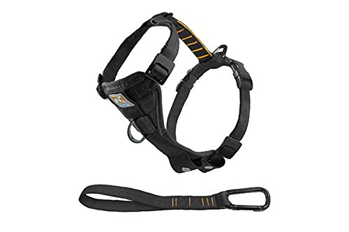 Kurgo Tru-Fit No Pull Dog Harness, Easy Walking Harness, Quick On and Off Harness With Pet Seat Belt Tether for Car, Large