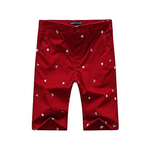 Men's Casual Chino Shorts 12