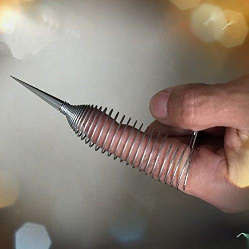 NERVENRAD Nadelrad Nervenrädchen Stainless Steel Sex finger sleeve zt043