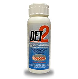 GENERAL DET2-STAIN REMOVER for wine coffee nicotine fruit juice organic