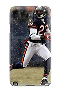 SeFbAMZ4353xhRKk CaseyKBrown Chicagoears Durable Galaxy Note 3 Tpu Flexible Soft Case