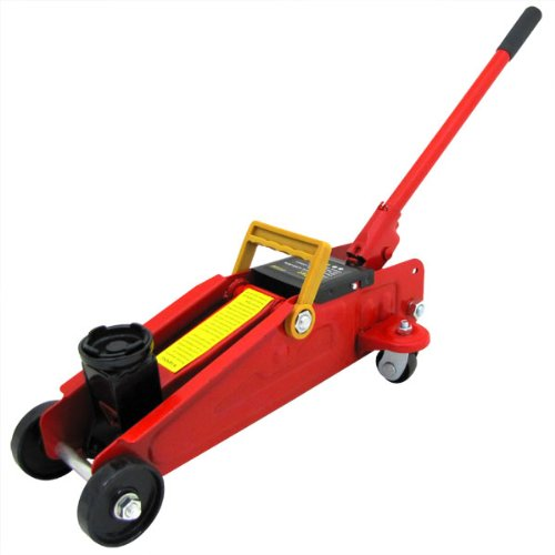 2 Ton Floor Jack Shop Jack Portable Car Jack Folding Hydraulic Floor Jack (Carry Case Included)