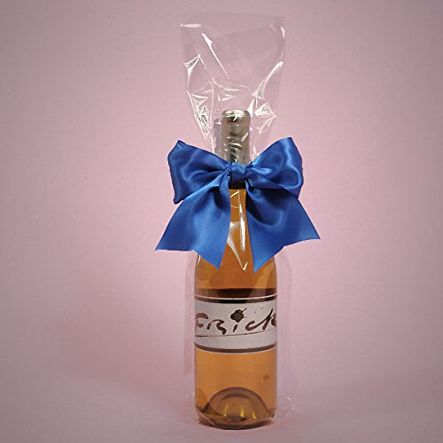 Cellophane Wine Bags - Polypropylene / Cellophane Polypropylene Clear Cello Wine Bags 4