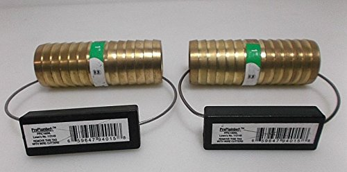 2 PACK 1 Brass Coupling Insert Connectors Pro Plumber