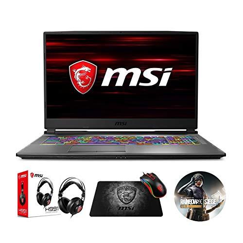 """MSI GP75 Leopard 10SFK-219 (i7-10750H, 32GB RAM, 1TB NVMe SSD + 2TB SSHD, RTX 2070 8GB, 17.3"""" Full HD 240Hz 3ms, Windows 10) Gaming Notebook"""