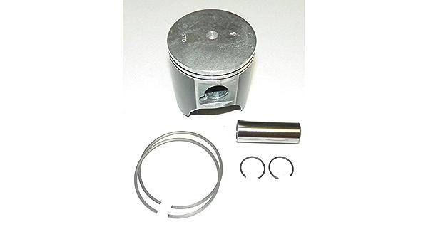 Rareelectrical NEW PLATINUM PISTON KIT COMPATIBLE WITH 1MM OVER KAWASAKI 95-06 STX 900CC 13001-3720 130013720