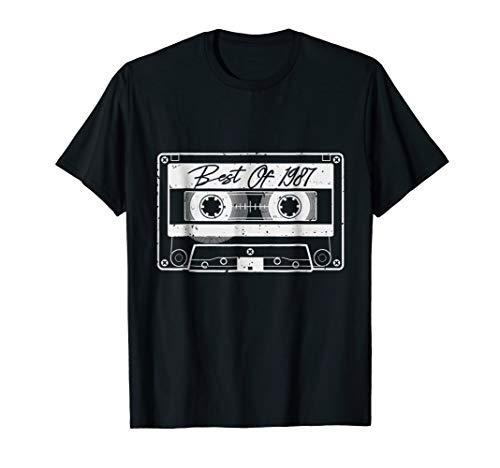 Cassette Tape Costume Shirt Best Of 1987 T- Shirt