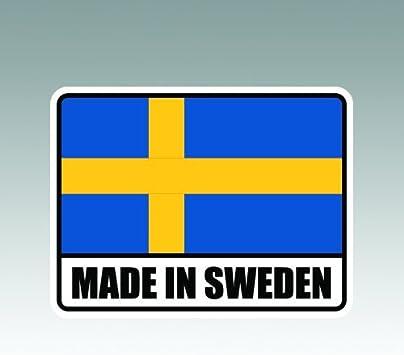I Love Sweden Sticker Decal Die-Cut Vinyl 2