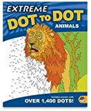 Animals Extreme Dot To Dot Drawing Extreme Coloring Book