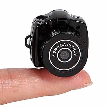 Cámara digital Mini HD 720P 2.0 MP CMOS 30 fps, videocámara DVR HD, más pequeña, con hendidura de TF y llavero oculto: Amazon.es: Electrónica