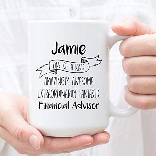 Personalized Coffee Mug for Financial Advisor Custom Gifts for Financial Advisor