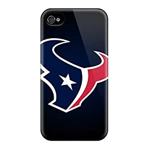 Great Hard Cell-phone Cases For Iphone 6 (lWa18076BnWY) Custom Realistic Houston Texans Image