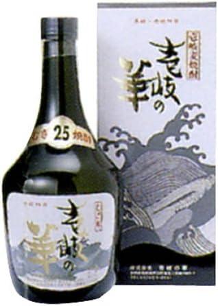 本格麦焼酎 壱岐の華 黒瓶 25度 720ml
