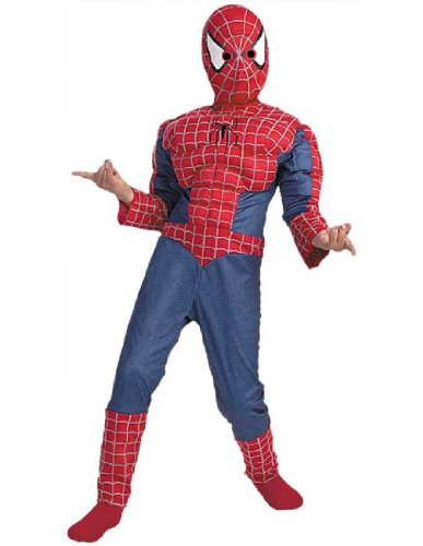 Spiderman Dress For Kid (SPIDERMAN MUSCLE 7 TO 8)