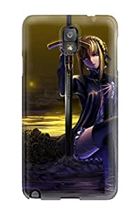 Galaxy Note 3 Case Bumper Tpu Skin Cover For Fate/stay Night Accessories