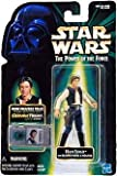 1 X HAN SOLO with BLASTER PISTOL & HOLSTER Star Wars The Power of the Force Action Figure & COMMTECH CHIP