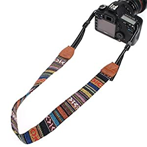 ShungHO Multi-Color Universal Camcorder Camera Shoulder Strap Universal Camcorder Belt for DSLR