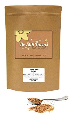 Organic Steel Cut Oats 5 Pounds  USDA Certified Organic | NonGMO | Vegan