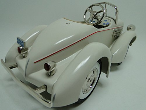 High End Collector Pedal Car Vintage 1930S Duesenberg Antique Hot Rod Race Sport Sportscar Investment Grade Midget Model Classic Museum Quality Metal Body Collectible Not A Toy For A Child To Ride On