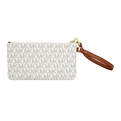 fc420e350a88 MICHAEL Michael Kors Signature Jet Set Item Medium Wristlet, - Import It All