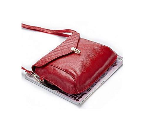 A Con Pelle Borse Cerniera Le Handbag Per Donna Ragazze Tracolla Black In qxIOTTwH