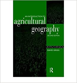 An Introduction to Agricultural Geography