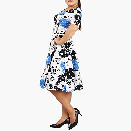 Oriention - Vestido - Noche - para mujer Azul