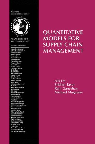 Quantitative Models for Supply Chain Management (International Series in Operations Research & Management Science)