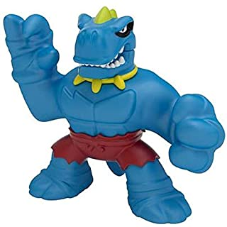 Goo Jit Zu Dino Power Tyro Hero Pack with New Chomp Attack | Super Gooey Action Figure Stretched to up to Three Times its Length