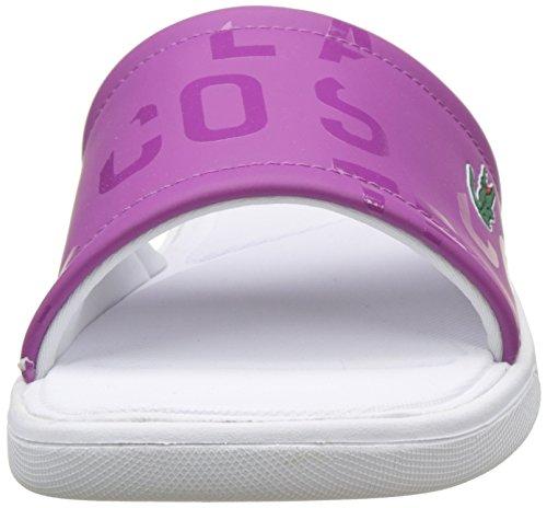 Lacoste L.30 Slide 117 1 Caw Purp, Chancletas para Mujer Morado (Violet Purp)