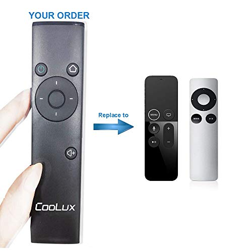 Coolux Brand Remote Control of Apple TV Mac, Pad Phone (4th Generation)