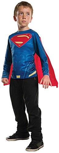 Rubie's Costume Boys Justice League Superman Top Costume, Medium, Multicolor