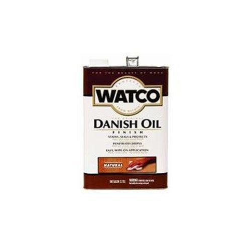 Danish Oil Oak (Watco 65131 Danish Oil, Golden Oak - ONE Gallon by Rust-Oleum)