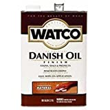 Watco 65131 Danish Oil, Golden Oak - ONE Gallon by Rust-Oleum