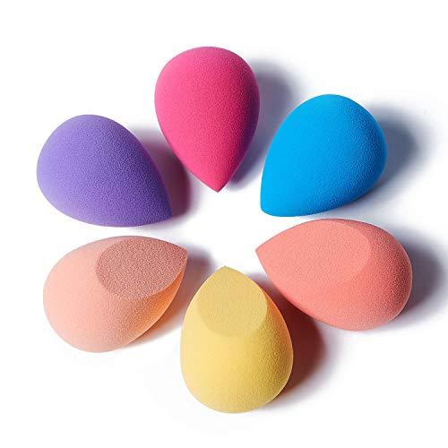 HIEIE Makeup Sponge, Beauty Sponge Blender for Liquid, Cream, and Powder, Multi-colored Non-Latex Blending Sponge for…