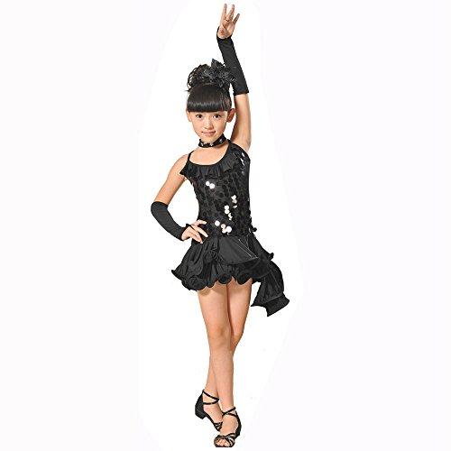 Compleanno Nozze Ragazze Sera Cerimonia Festa Pageant Nero1 Bambini Fiore Cosplay Per Abito Vestito Abiti Zarupeng Ragazze Ballerina Lungo Battesimo Carnevale Arcobaleno H76xZ