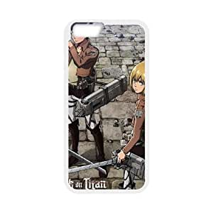 Attack On Titan Destroyed iPhone 6 4.7 Inch Cell Phone Case White phone component RT_169675